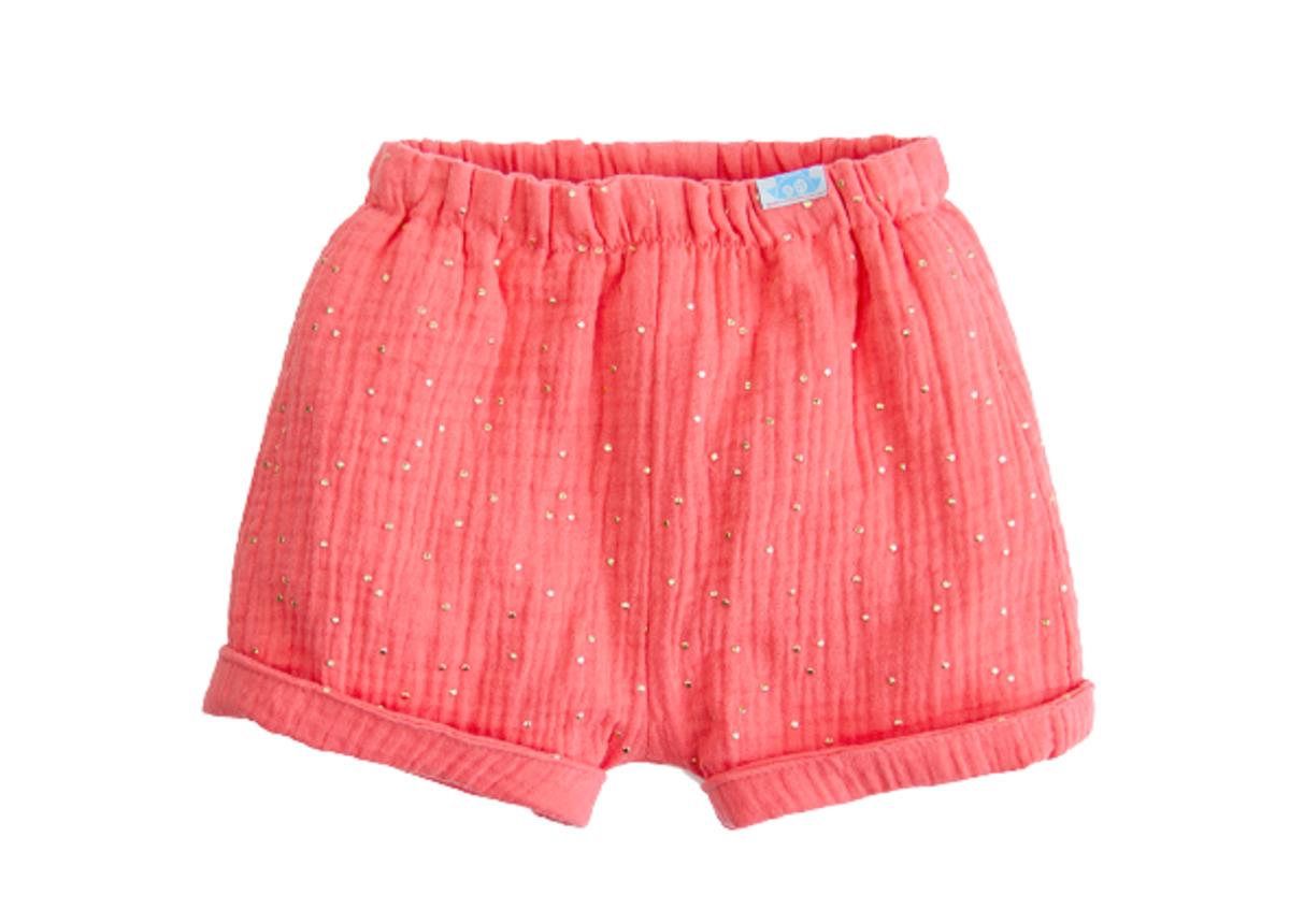 Pantalón Corto Muselina Coral